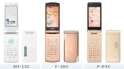 NTT DOCOMO Mobile Phone with SHARP HDP Manager Platform, SH